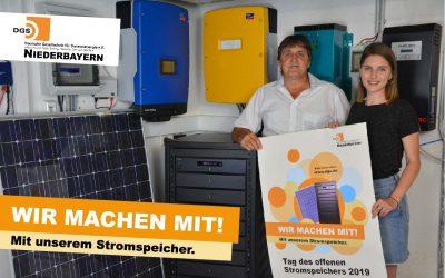 AKTIONSTAG: Tag des offenen Stromspeichers